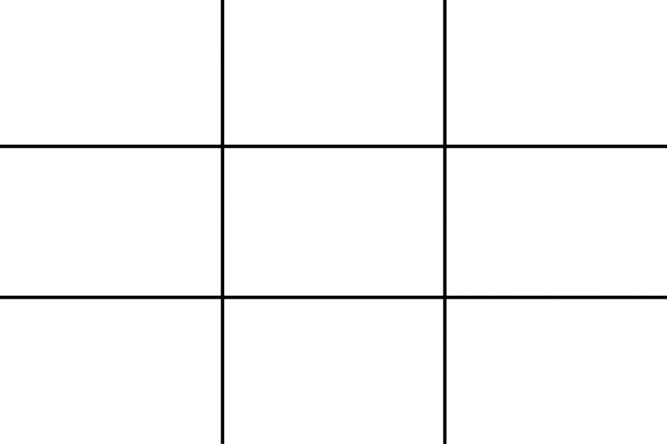rule-of-thirds grid