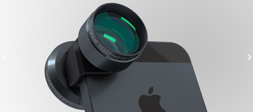 Get closer with Olloclip's telephoto attachment