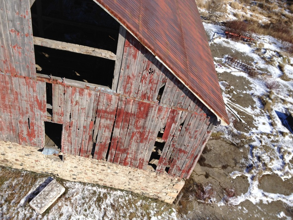 Barn from above