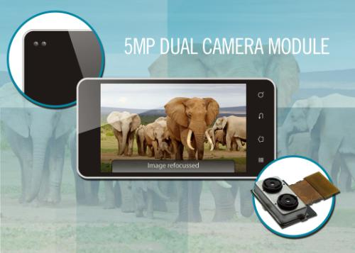 Focus and refocus with Toshiba's dual camera module