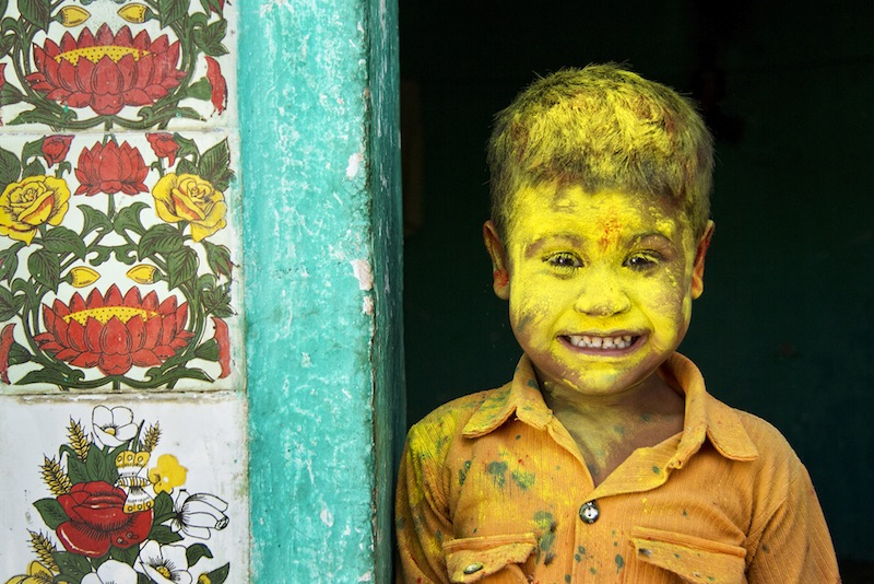 Yellow Fellow, by Anurag Kumar (Open Category: Smile, 2014 Sony World Photography Awards)