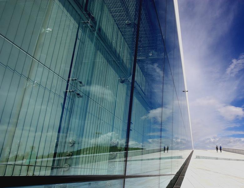 Jenny Downing: Oslo's Opera House (Modern)