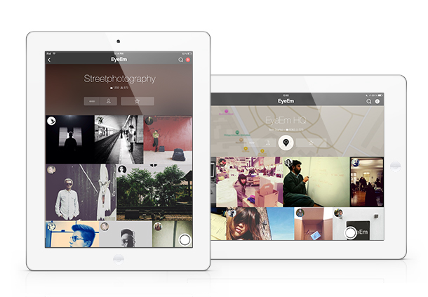 EyeEm on the iPad