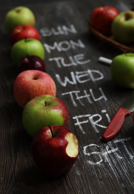 An Apple a Day: William Hondokosumo (Indonesia) - A Week's Apples