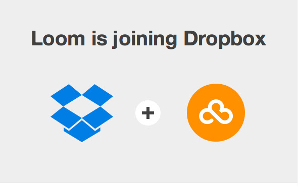 Dropbox + Loom = Less choice for image storage?