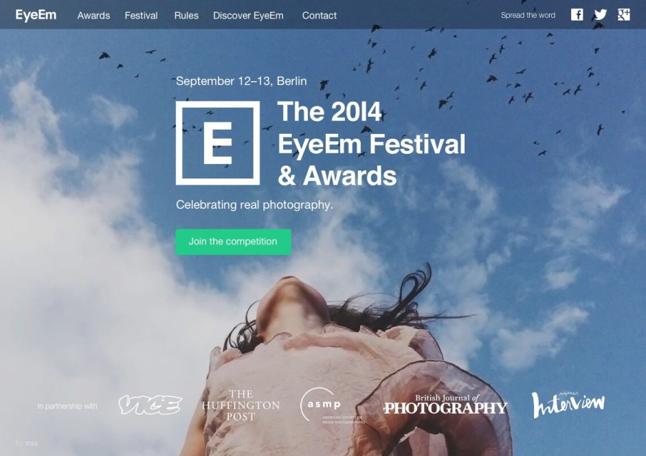 b_EyeEm Awards Website