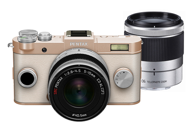 Pentax Q-S1: £300 body-only, or £380 with a 5-15mm lens; £550 with both the 5-15mm and 15-45mm lenses