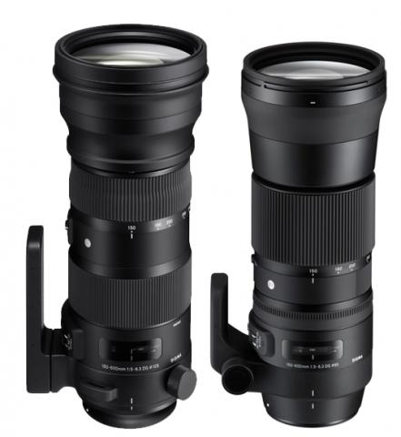 Both 150-600mm, one bigger, one smaller