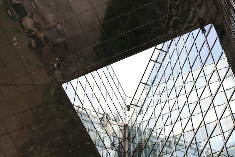 1 London Bridge: river and sky; steel and glass