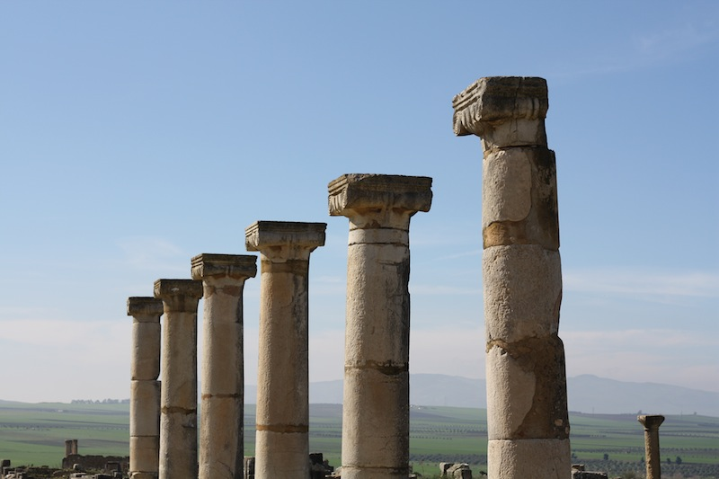 Ancient-style repetition: the Decumanus Maximus, Volubilis