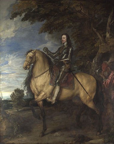 Charles I by Antony van Dyck (Image courtesy of Wikipedia)