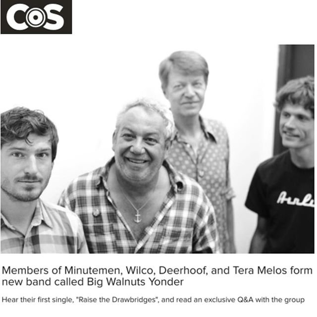 Big Walnuts Yonder new track streaming @coslive New album out May 5th on @sargenthouse