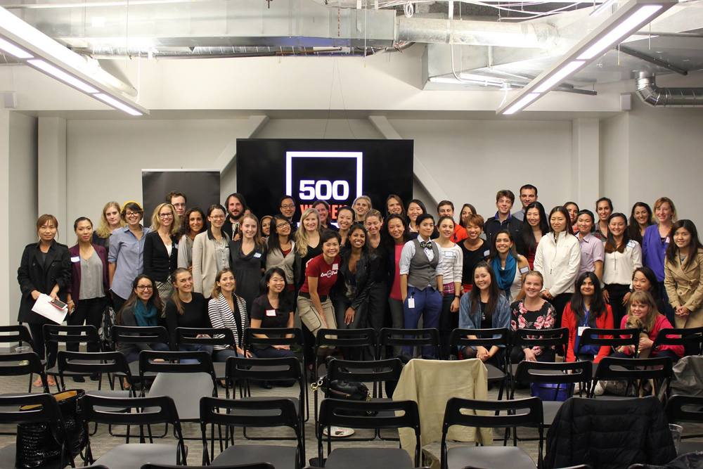 500 Women Hosted by 500 Startups