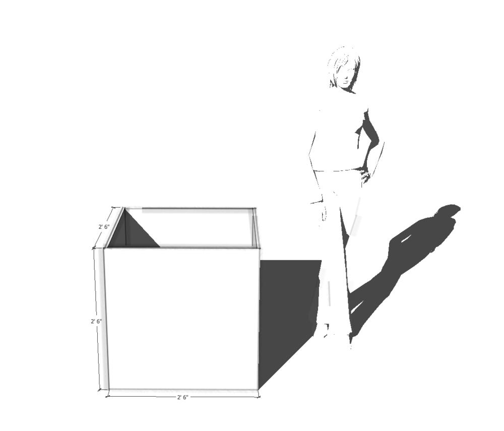 """REC series UHPC 30"""" cube"""