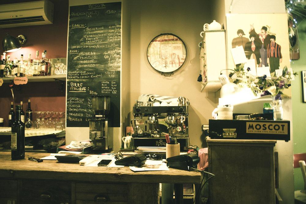 Obla Di Obla Da - A fantastic restaurant on Via Ennio Quirino Visconti in Rome, Italy
