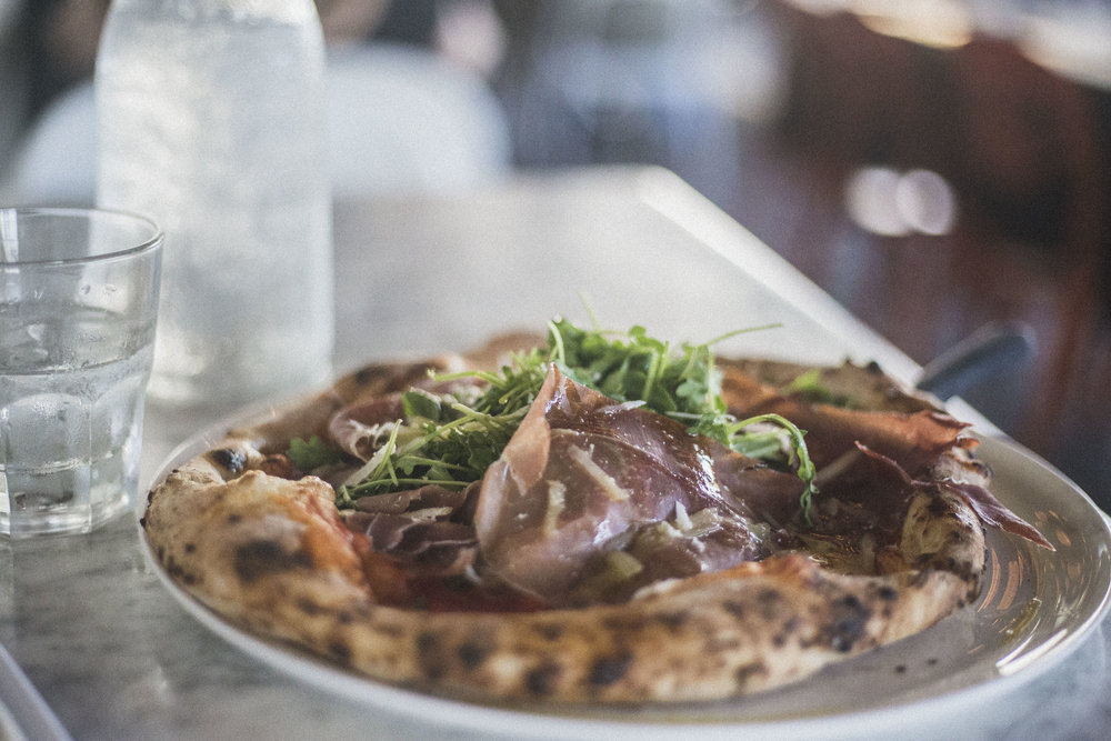 Pizza from Buona Forchetta in South Park (San Diego City Guide)