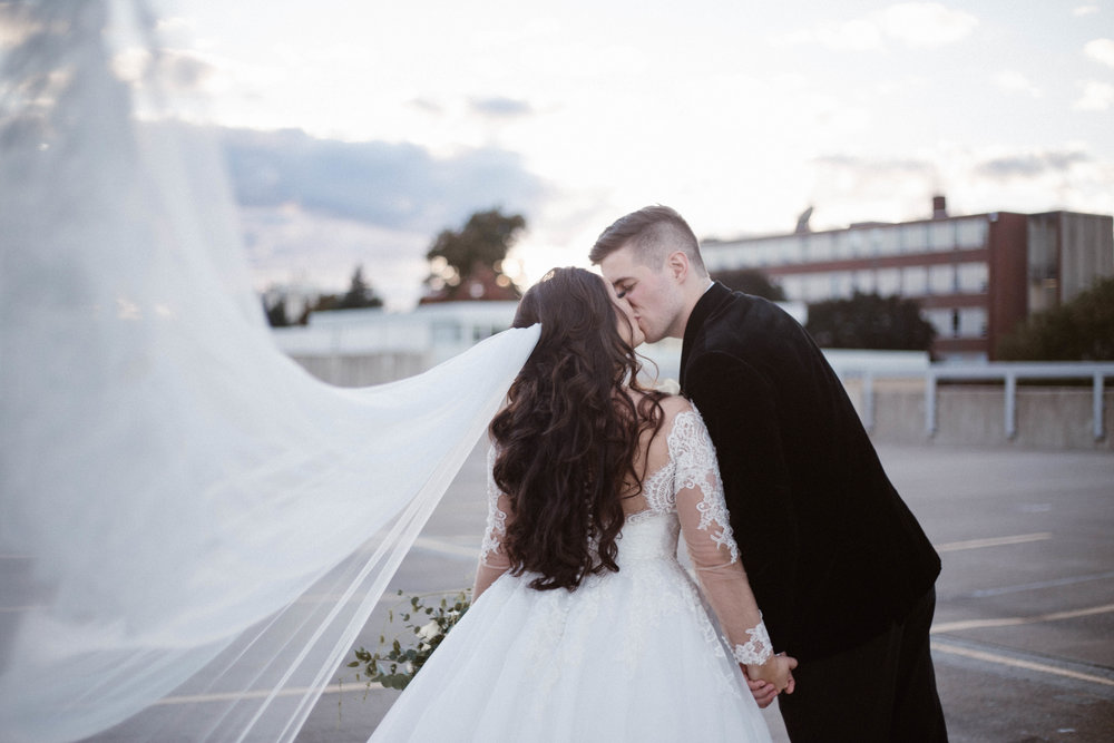 Details from a September wedding at Portland, Maine's Westin Hotel