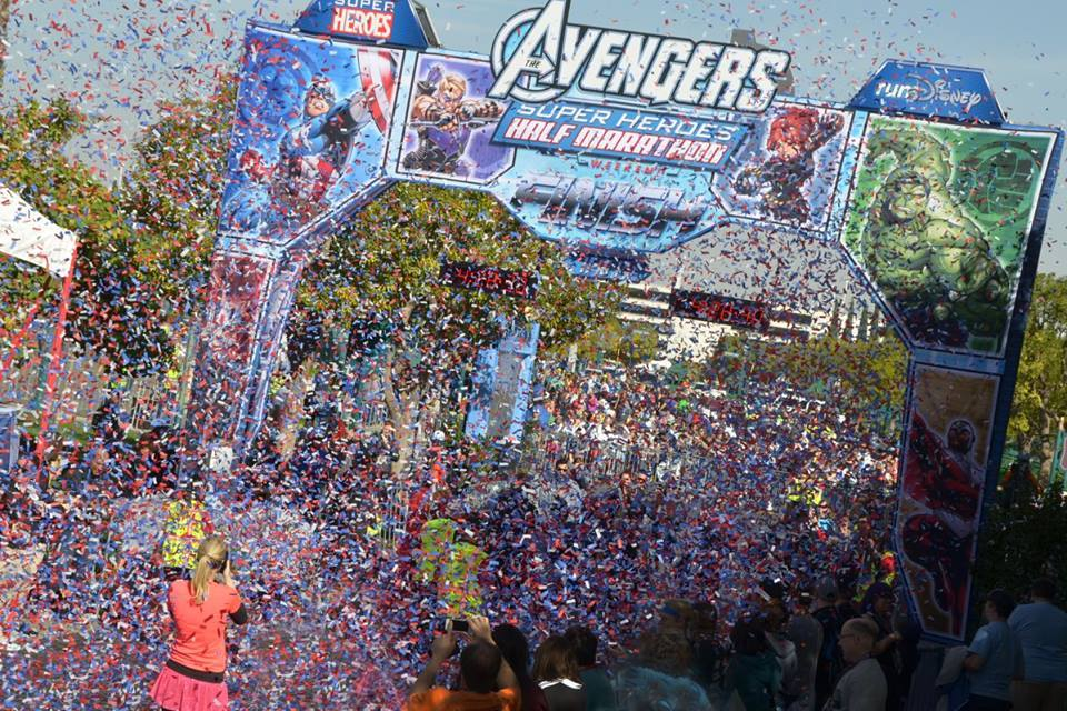 Disney's Avengers Half Marathon // Truss Structures