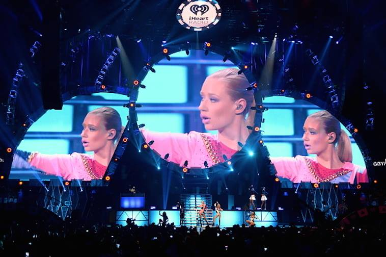 Iggy Azalea // Stage Set at iHeart Radio Music Festival