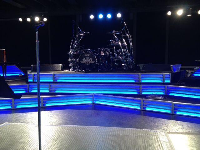 REO Speedwagon Custom Stairs