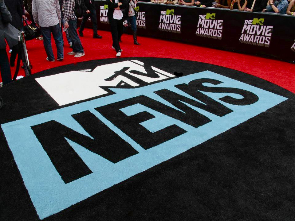 Custom Carpet for the MTV Movie Awards