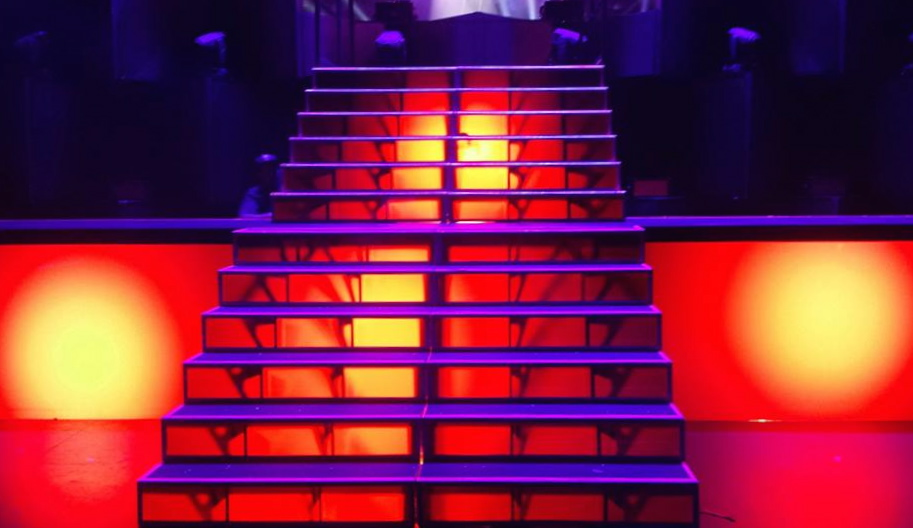 Custom Stairs for Iggy Azalea