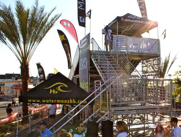 Snow Fest Stage Platform
