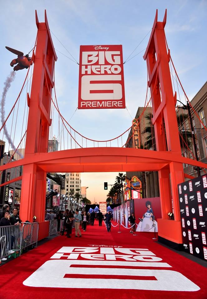 Big Hero 6 Premiere Truss Structure