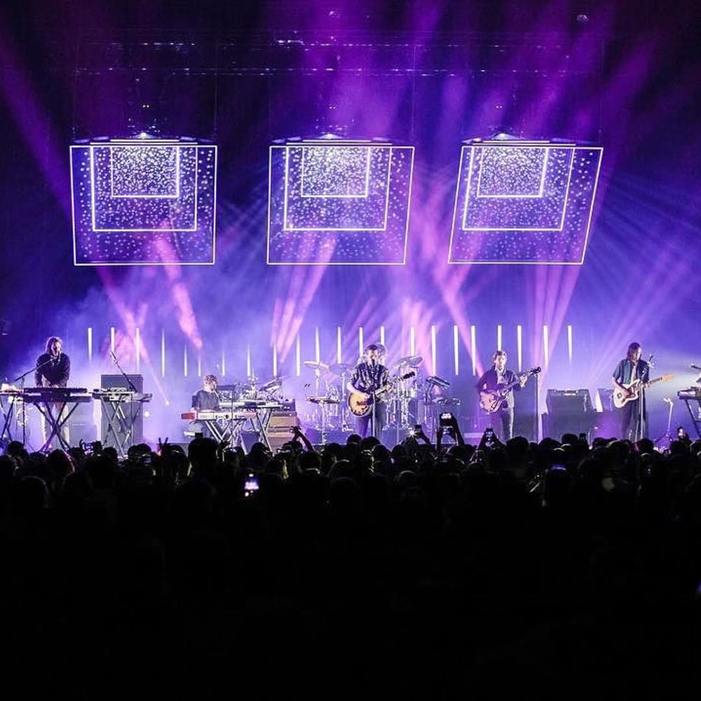 Foster The People Custom LED Pods