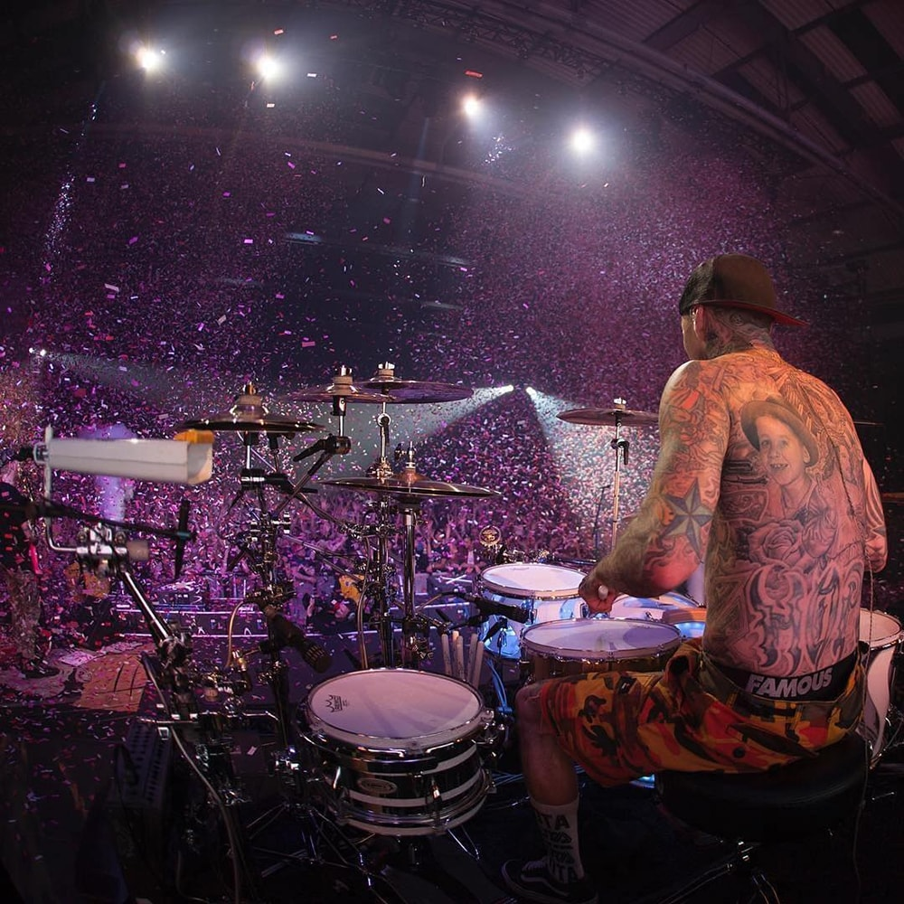 Blink 182 Travis Barker Drum Riser