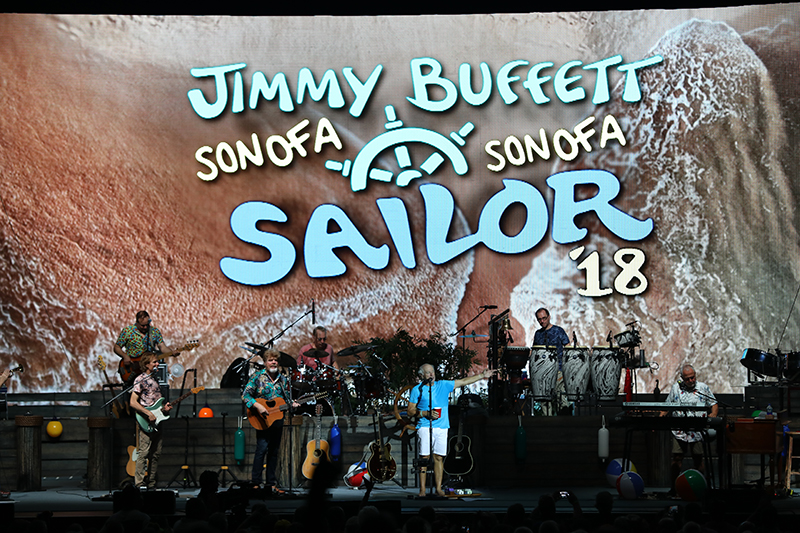 Jimmy Buffet - Son of a Sailor Tour 2018