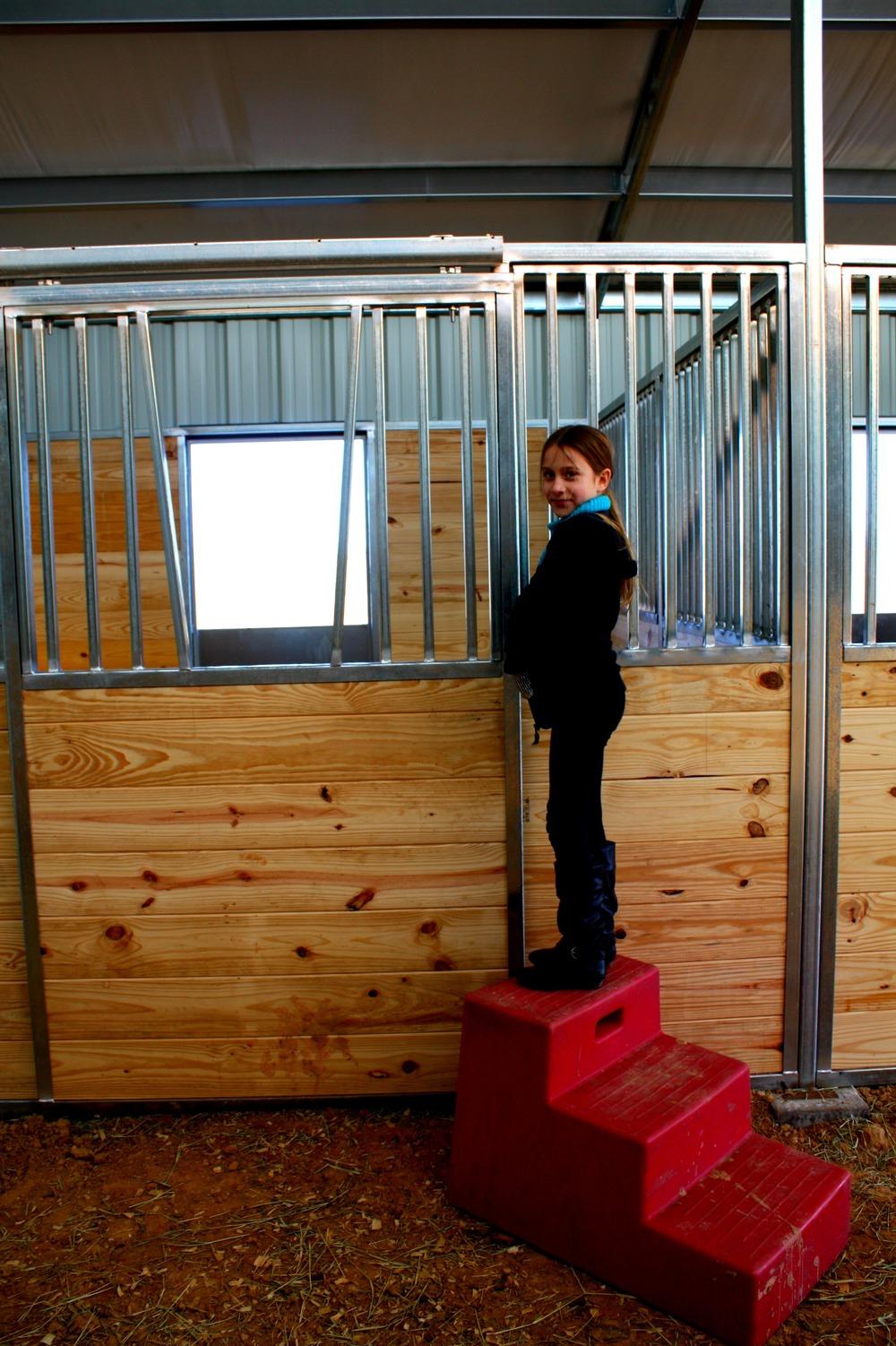 Ameristall Horse Barns Hudsons Raised Center Aisle