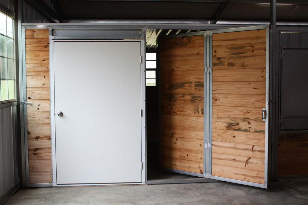 Depending On The Number Of Stalls You Want Included In Your Barn Layout,  You Can Have An Equipment Storage Space Across From The Tack Room That  Allows You ...