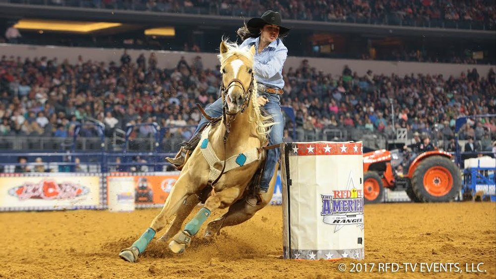 Photo courtesy of RFD-TV Events, LLC. Visit  www.americanrodeo.com  for more information.
