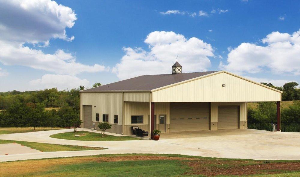 Steel Building-Metal Building-Metal Hangar-Shop