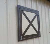Horse Stall Windows