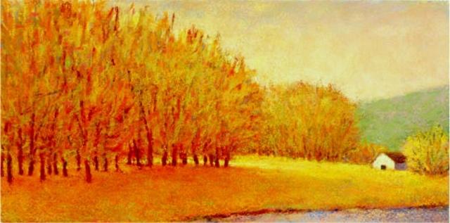 Butterscotch Trees Giclee