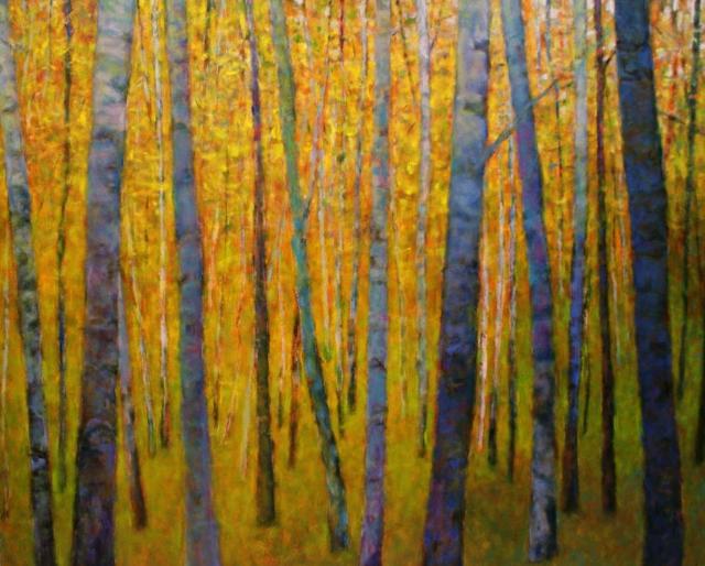 Forest Verticals Giclee