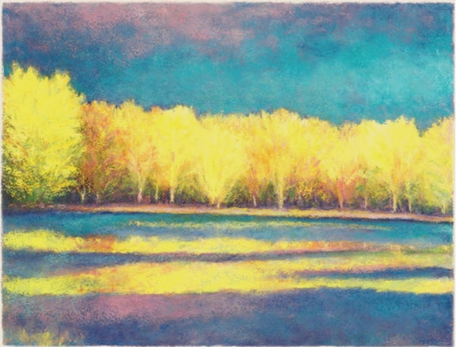 Yellow Reflections Giclee