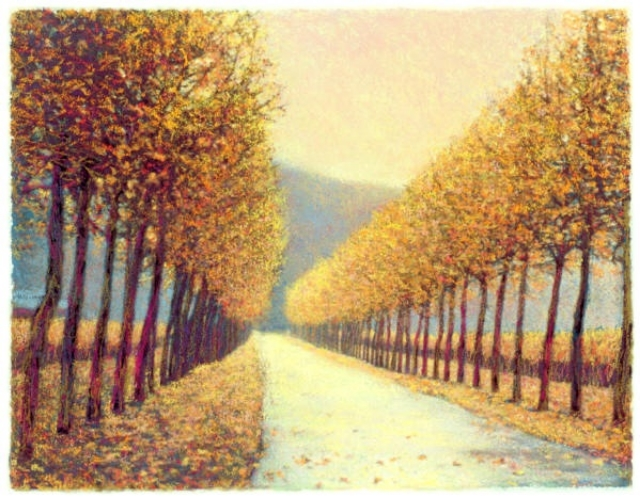 Napa Autumn Giclee