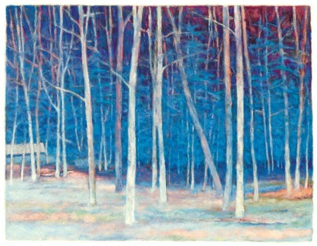 White Wood Giclee