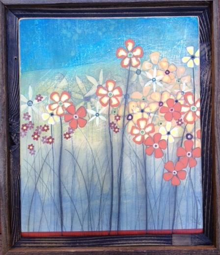 Cantalope Island I 18x22 Wood Panel