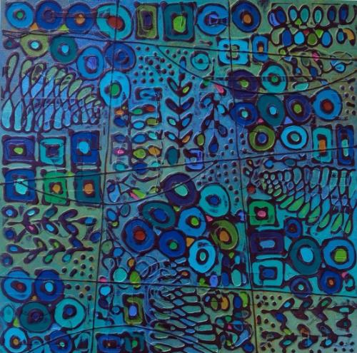 13673 Monet 18x18 PAPER