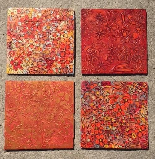 4 (18x18) tiles BOARD