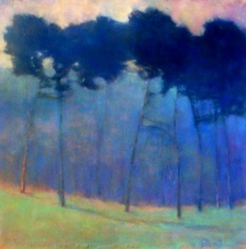 Soft Blue Progression Giclee