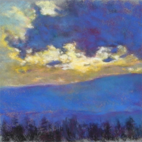 Blue Sunset Giclee