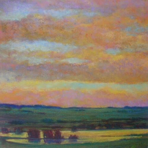 Sunset Pond Giclee