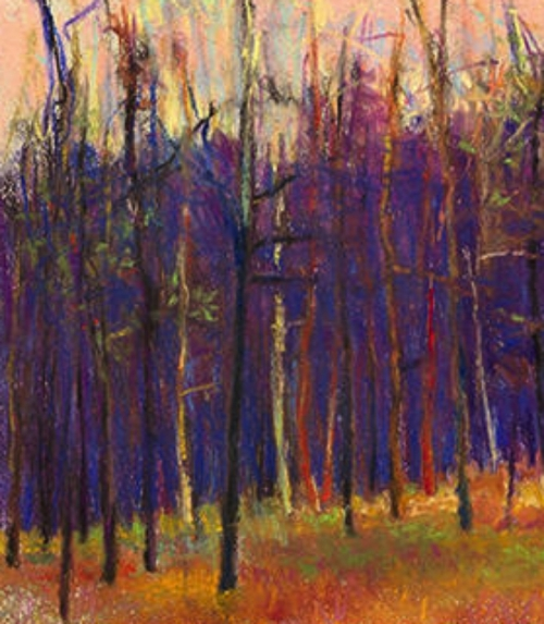 Winter Wood LEFT Giclee
