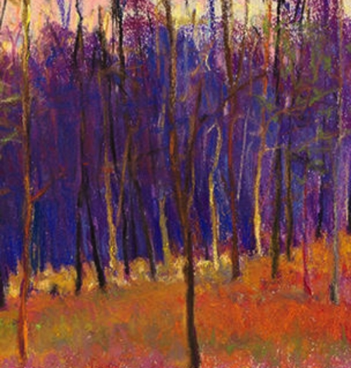 Winter Wood RIGHT Giclee