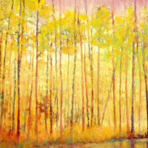 Yellow Curtain Giclee